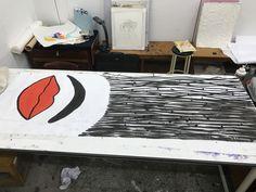 학교에서 깃발전이라는 프로젝트를 해가지고 그린 깃발중 하나입니다