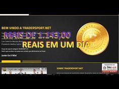 Trader Sport Net e Prova de Saque de U$363,00 Ou 1.143,00 R$ Em Um Dia 1...