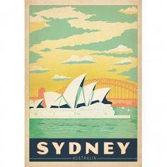 Sydney Wall Art Print