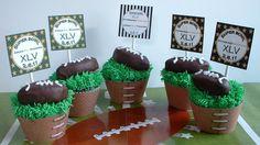 Super Bowl Cupcakes:Packers vs. Steelers