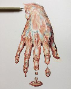 ideas gcse art sketchbook hands for 2019 ideas gcse art sketchbook hands for 2019 melting_clock Magazine - Julia Randall: Lures, Decoys, Tongues, and Bubble Gum More I'm Yellin' Timber Body art by Willey Noel Badges Pugh shop Under Thy Fingers*. Portfolio D'art, Fashion Portfolio, Art Inspo, Art Sketches, Art Drawings, Pencil Drawings, Gcse Art Sketchbook, Sketchbook Ideas, Fashion Sketchbook