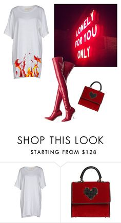 """""""Başlıksız #62"""" by idilkumru ❤ liked on Polyvore featuring Dirty Pretty Things, Off-White and Les Petits Joueurs"""