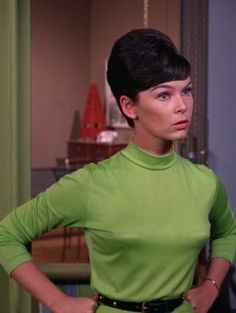 """Yvonne Joyce Craig (born May is an American ballet dancer and actress best known for her role as Batgirl from the TV series Batman, and as the Orion Marta in the Star Trek: The Original Series episode """"Whom Gods Destroy"""". Batman Show, Real Batman, Batman Tv Series, Batman And Superman, Batman Robin, James Gordon, 60s Tv Shows, Batgirl Cosplay, Yvonne Craig"""