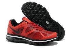 Mens Nike Air Max 2012 University Red Black White Shoes