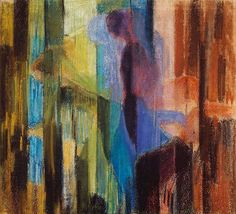 Frantisek Kupka - His Figurative Pastels Mondrian, Kandinsky, Abstract Painters, Abstract Art, Love Art, All Art, Frantisek Kupka, Georges Pompidou, Cubism