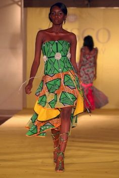This green tho! Trendy Styles Made With 'ankara' - Fashion (3) - Nairaland