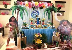 De Party Designs 's Birthday / Moana - Photo Gallery at Catch My Party Moana Theme Birthday, Hawaiian Birthday, Hawaiian Theme, Luau Birthday, 4th Birthday Parties, Birthday Party Decorations, Birthday Ideas, Birthday Cake, Moana Party