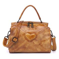 6f92693b0558 Hot-sale designer Brenice Genuine Leather Heart Handbags Elegant Shoulder  Bags For Women Online - NewChic