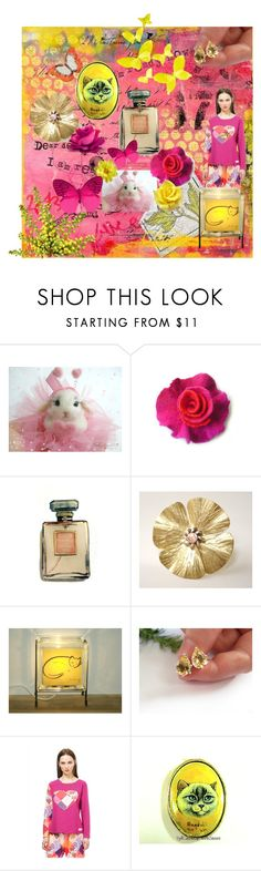 """Spring is in the air"" by marlena-rakoczy ❤ liked on Polyvore featuring Chanel and Desigual"