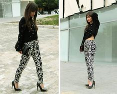 Chic of the Week: Dosta Edgy Ensemble love the design of the pants .. great for a hot summer