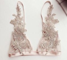 Lingerie of the Week: With Love Lilly Champagne Bralette Lingerie Latex, Lingerie Plus, Hot Lingerie, Pretty Lingerie, Beautiful Lingerie, Wedding Lingerie, Look Fashion, Fashion Beauty, Womens Fashion