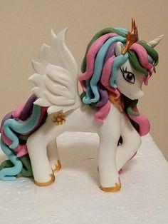 My little pony - Princess Celestia by Gabriela Doroghy
