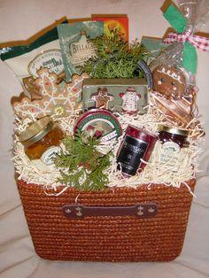 GingerNSpice Holiday basket Holiday Baskets, Picnic, Spices, Tea, Fruit, Spice, Picnics, Teas