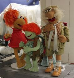 Red Fraggle, Boober Fraggle, and Traveling Matt will look familiar to children of the 1980s. They're now part of our collection!