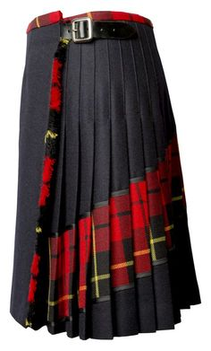 Heritage details meet contemporary elegance in this signature red tartan kilt from Siobhan Mackenzie. A diagonal red plaid pattern across the back Tartan Kilt, Tartan Dress, Plaid Pleated Skirt, Plaid Skirts, Denim Skirt, Mode Unique, Scottish Clothing, Scottish Plaid, Scottish Tartans