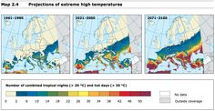 The 16 scariest maps from the E.U.'s massive new climate change report