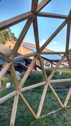 Domo Construcción _ San Pedro de la Paz _ Chile. Gazebo, Outdoor Structures, Peace, Kiosk, Deck Gazebo