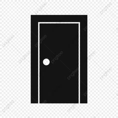 Clipart, Black Doors, Closed Doors, Instagram Logo, Abstract Pattern, Social Network Icons, Icon Set
