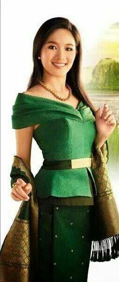 Lao silk clothing - top