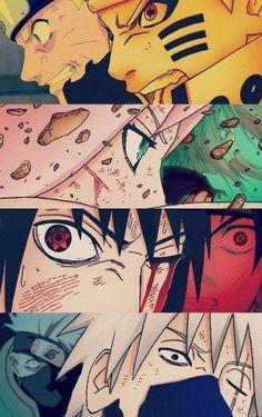 Team 7 during the war 😍❤️ Naruto, Sakura, Sasuke and Kakashi 😍❤️❤️❤️ Naruto Shippuden Sasuke, Naruto And Sasuke, Anime Naruto, Naruto Gaiden, Kakashi Sensei, Sakura And Sasuke, Naruto Art, Sakura Haruno, Itachi