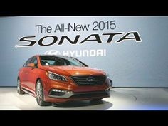 2015 Hyundai Sonata - 2014 New York Auto Show Show Video, Video New, Kelley Blue, Hyundai Sonata, Blue Books, Car Images, New York, News, New York City