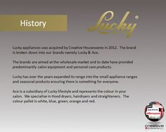 Lucky History Salon Equipment, Over The Years, Personal Care, Marketing, Lifestyle, History, Self Care, Historia, Personal Hygiene