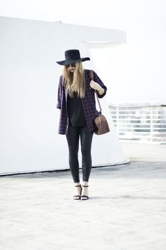 7 Very Different Ways To Style a Plain Black T-Shirt | StyleCaster