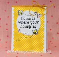 How sweet is this card by Elise?! I love her custom Rileys ABCs sentiment, and the way she used...