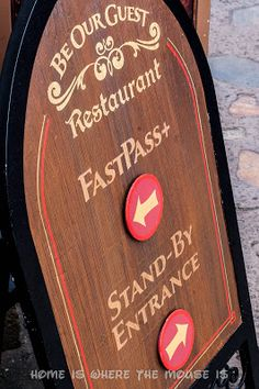"""The """"Be Our Guest"""" Lunch Experience   Home is Where the Mouse is"""
