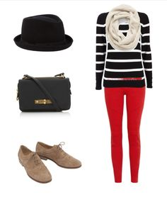 Simple and easy outfit idea