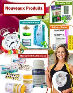 Nouveaux produits pour perdre poids - Lida DaiDaihua, Adipex-P , Hoodia P57