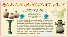 Now in the third season of the Ale Through the Ages brewing series here at Discovery World, the latest brew turned out to be one of the most challenging and unique fermented beverages we've attempt…