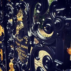 Glasgow Necropolis Gates