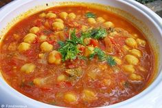 Vegan Moroccan Chickpea Soup | Hasa Al Hummus | High Protein recipe