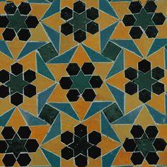 Motifs géométriques - Arts de l'Islam - Pavage marocain