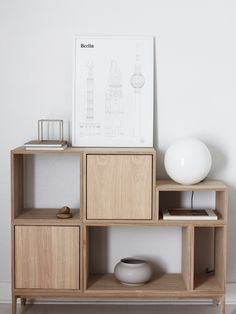 Jennifer Hagler styling Muuto STACKED shelving system