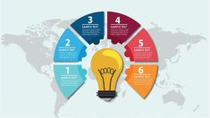 Bulb Infographic Illustrator Tutorial