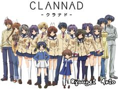 The major story in Clannad is about Tomoya learning about the point of having family and friends. Description from otakuhostclub.forum-motion.net. I searched for this on bing.com/images