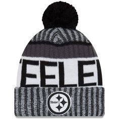 Pittsburgh Steelers New Season Sports Beanie Cuffed Winter Knit Cap Steelers  T Shirts 6cfa3e47f47e