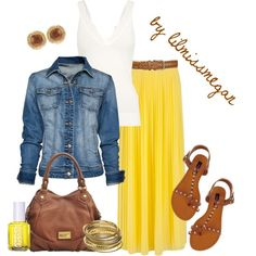 Sunny Side Up by lilmissmegan on Polyvore