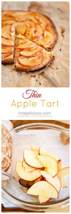 This Apple Tart is not only delicious, but also elegant and very easy to make. Perfect for weeknight treat or Thanksgiving dinner.