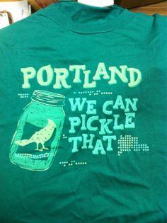retchen DiGiovanni    @GretchDiGi: They pickled it AND put a bird on it. My @PortlandiaTV @ifcportlandia shirt arrived today #loveit pic.twitter.com/gqntIVHC