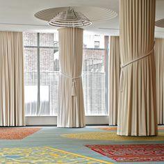 The Kimpton owned Eventi hotel ballroom design by Ballroom Design, Column Design, Hotel, Museum, Curtains, Luxury, Interior, Home Decor, Blinds