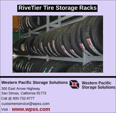 RiveTier Tire Storage Racks hold tires in place without bars or other locking devices so tires can easily removed. Easy to assemble and mount.
