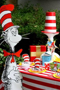 Cat in the Hat Photo Prop