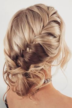 bridesmaid updos braided hair ombre kykhair