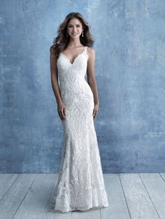 Allure Bridals is one of the premier designers of wedding dresses, bridesmaid dresses, bridal and formal gowns. Browse our collection and visit one of our retailers. Fitted Lace Wedding Dress, Bridal Wedding Dresses, Wedding Dress Styles, Bridesmaid Dresses, Wedding Bells, Wedding Bridesmaids, Bridal Gallery, Ball Gown Dresses, Lace Dresses