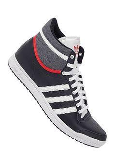 adidas Originals Top Ten Hi Sleek - Sneakers für Damen - Blau b7dda8a31