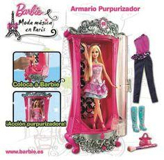 Barbie y su Armario Purpurizador
