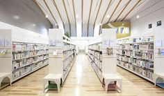 Shiwa Public Library, Iwate, Japan | 紫波町図書館
